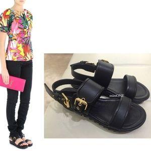 NIB Giussepe Zanotti buckle strap sandal size 38